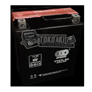 Jual Aki Merk OTODO - YTX7L-BS - 6AH - 12V