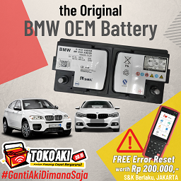 BMW OEM Battery #FreeResetBMW