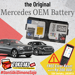 Mercedes OEM Battery #FreeResetMercedes