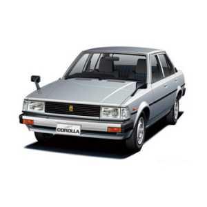 Toyota Corolla DX (1980-1983) - Corrola Series (1980-1983)