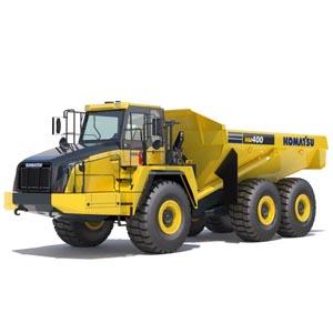 Komatsu Articulated Dump Truck -