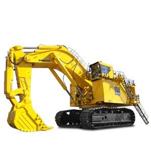 Komatsu Hydraulic Shovel - Hydraulic Shovel