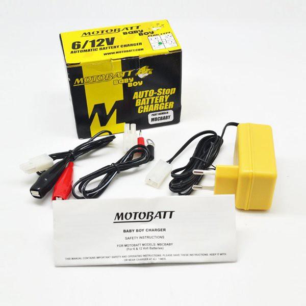 Motobatt MBCBABY Baby Boy charger accu mobil