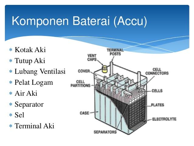 komponen baterai (accu/aki)