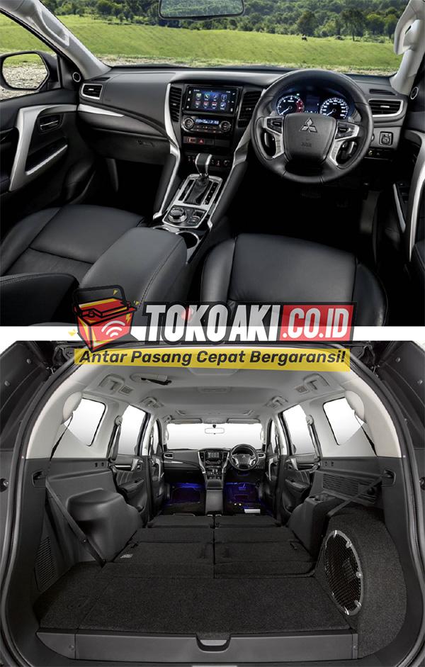 Interior Mobil Mitsubishi Pajero Sport - TokoAki.co.id