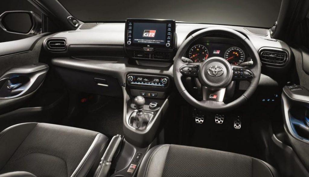 Interior Toyota Yaris - tokoaki.co.id