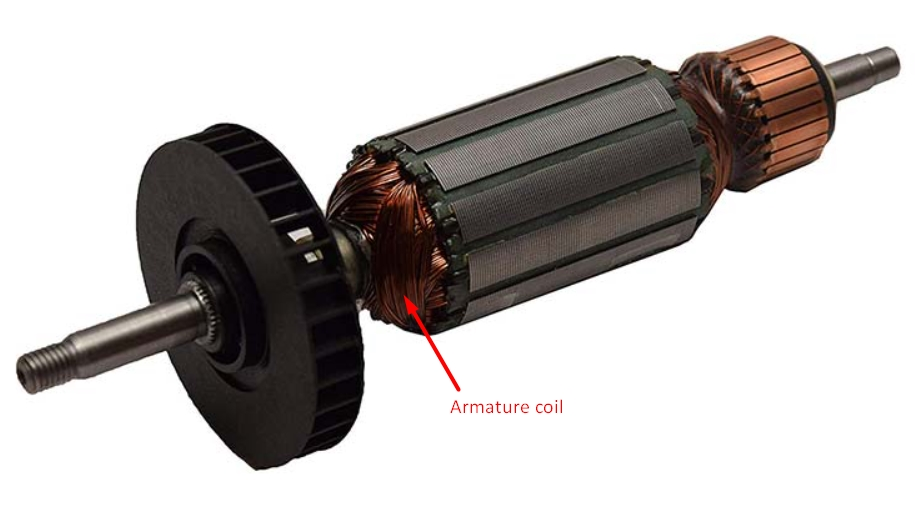 Armature coil